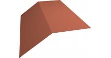 Коньки для кровли из металлочерепицы Grand Line в Воронеже Планка конька 190х190