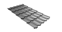 Металлочерепица для крыши Grand Line с покрытием Print Twincolor в Воронеже Kvinta plus 3D