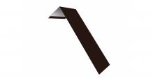 Металлические доборные элементы для фасада в Воронеже Планка лобовая/околооконная простая 190х50